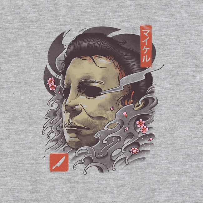 Oni Slasher Mask-unisex crew neck sweatshirt-vp021