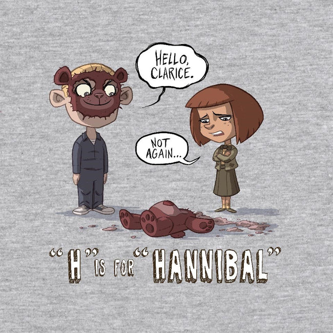 H is for Hannibal-unisex basic tank-otisframpton