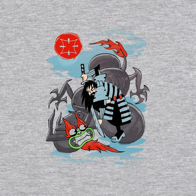 Ukiyo e Jack-unisex zip-up sweatshirt-vp021