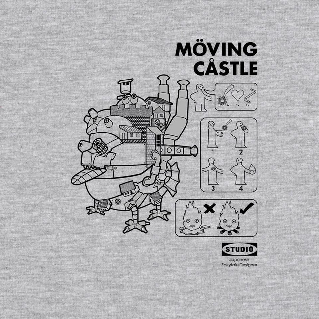 Moving Castle-mens long sleeved tee-Kempo24