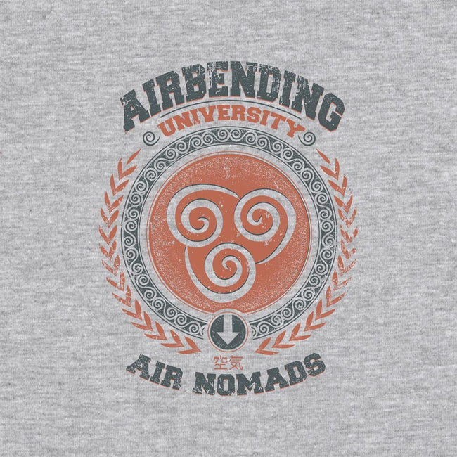 Airbending University-unisex zip-up sweatshirt-Typhoonic