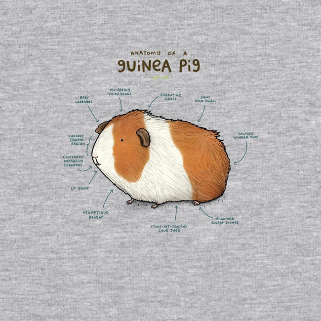 Anatomy of a Guinea Pig-unisex zip-up sweatshirt-SophieCorrigan