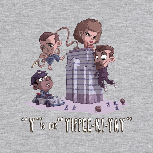 Y is for Yippee Ki Yay-unisex basic tank-otisframpton