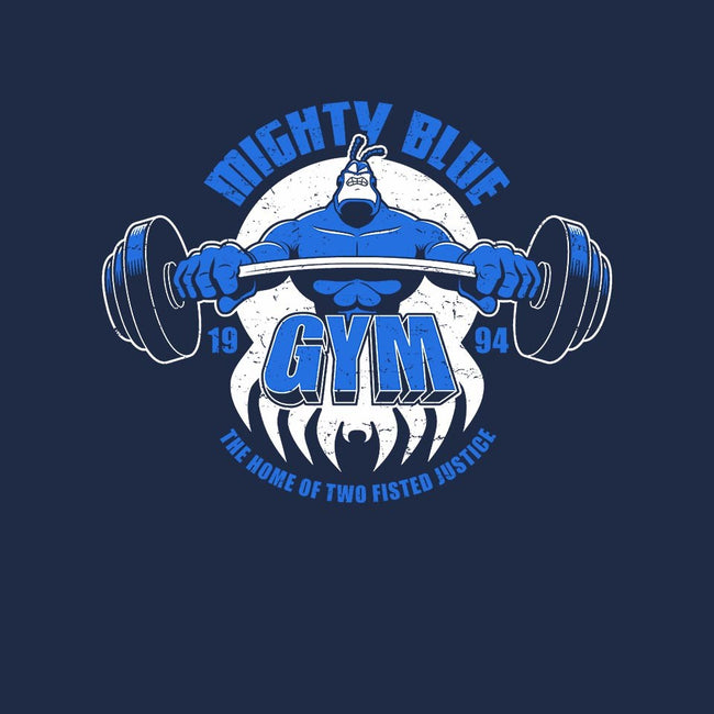 Mighty Blue Gym-mens basic tee-adho1982