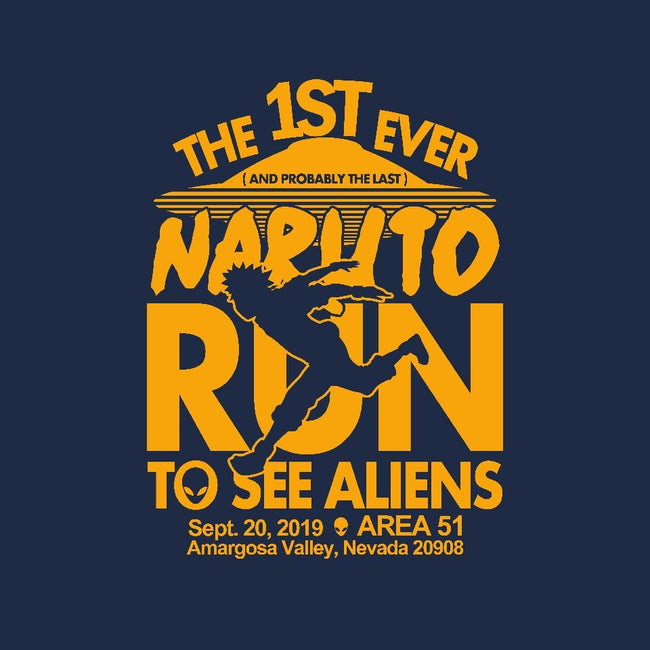 Naruto Run for Aliens-unisex basic tank-Boggs Nicolas