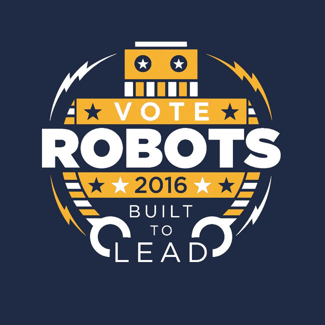 Vote Robots-mens long sleeved tee-AJ Paglia