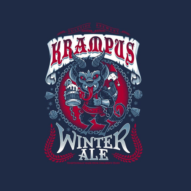Krampus Winter Ale-mens basic tee-Nemons
