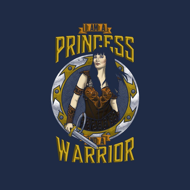 I'm A Princess And A Warrior-unisex zip-up sweatshirt-ursulalopez