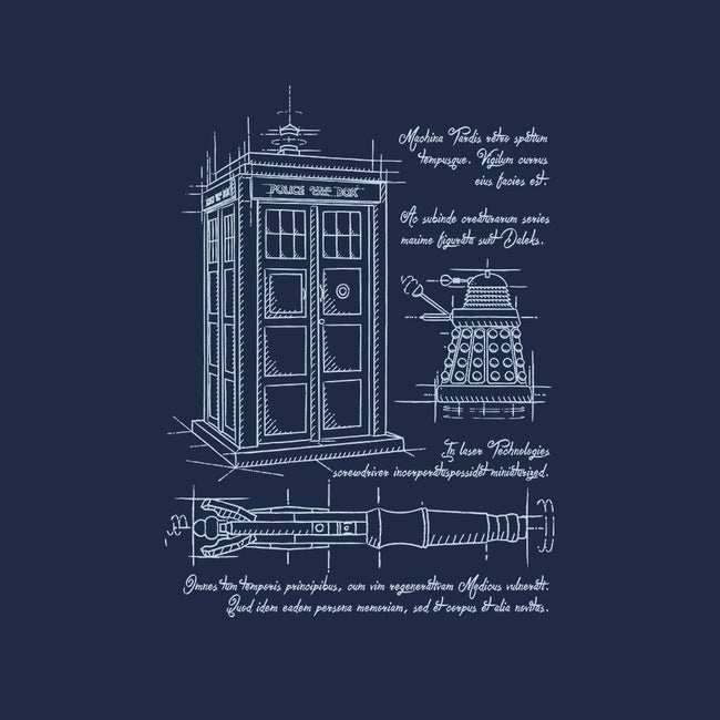 Time Travel Schematic-mens basic tee-ducfrench