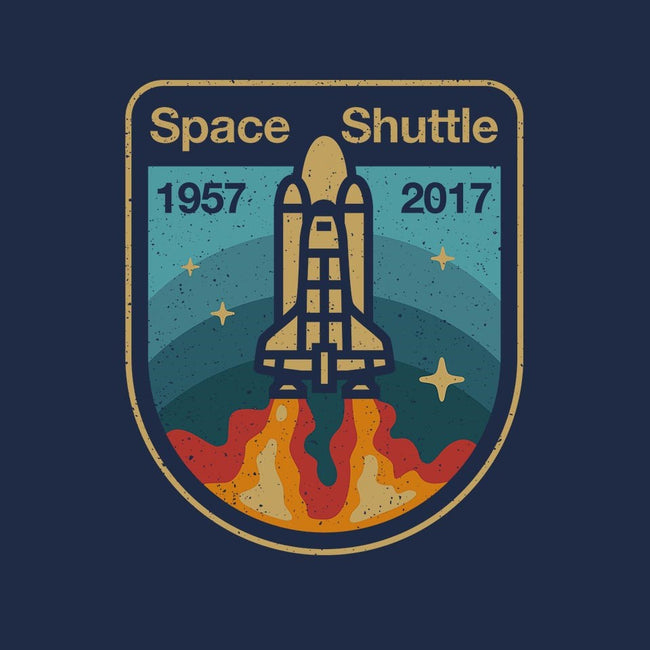 Retro Space Shuttle-mens basic tee-vomaria