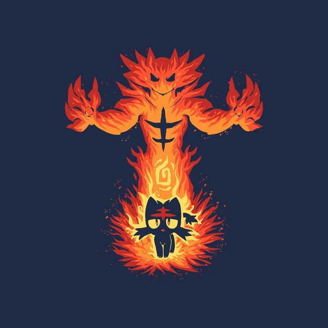 Inner Fire Cat-mens premium tee-TechraNova