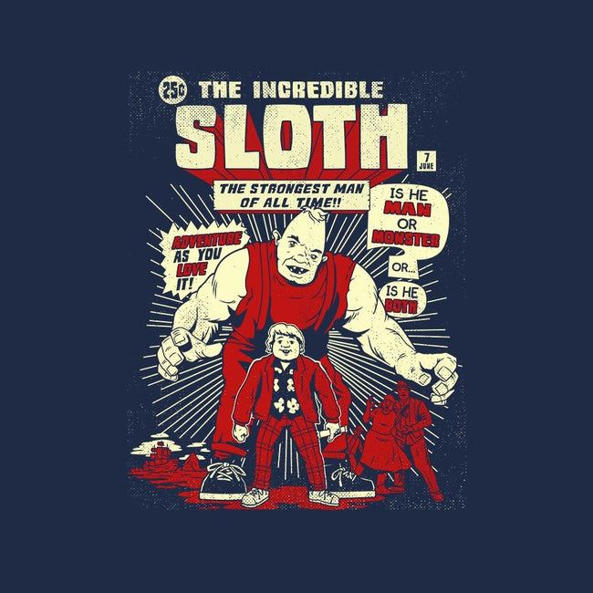 The Incredible Sloth-mens long sleeved tee-BlairJCampbell