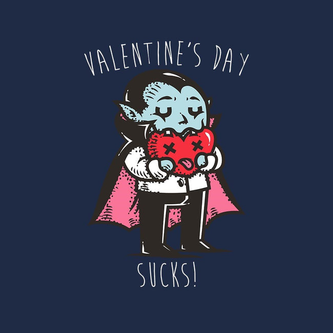 Valentine's Day Sucks!-unisex zip-up sweatshirt-krisren28
