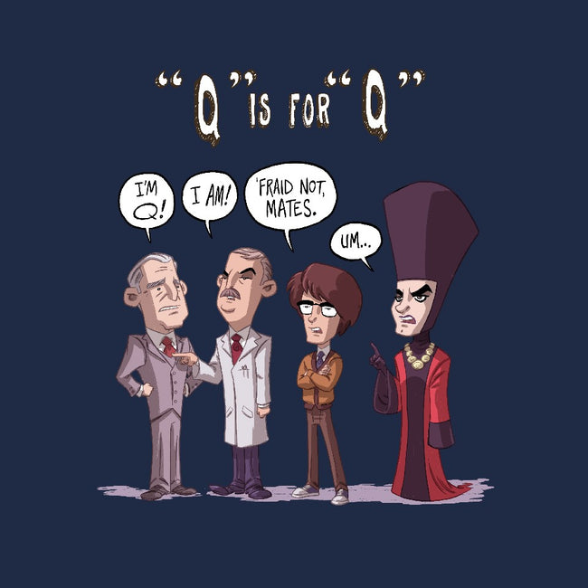 Q is for Q-mens premium tee-otisframpton