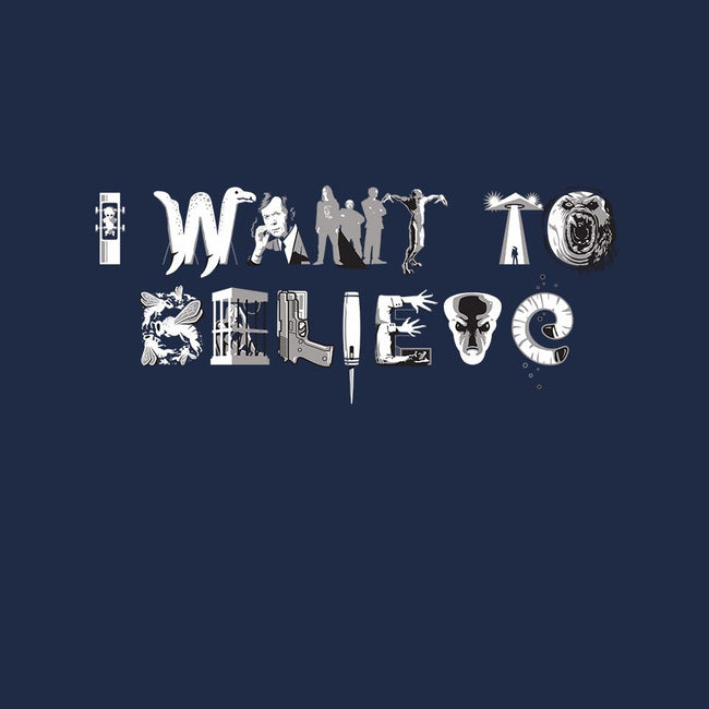 X-Philes-I Want 2 Believe-mens basic tee-Captain Ribman