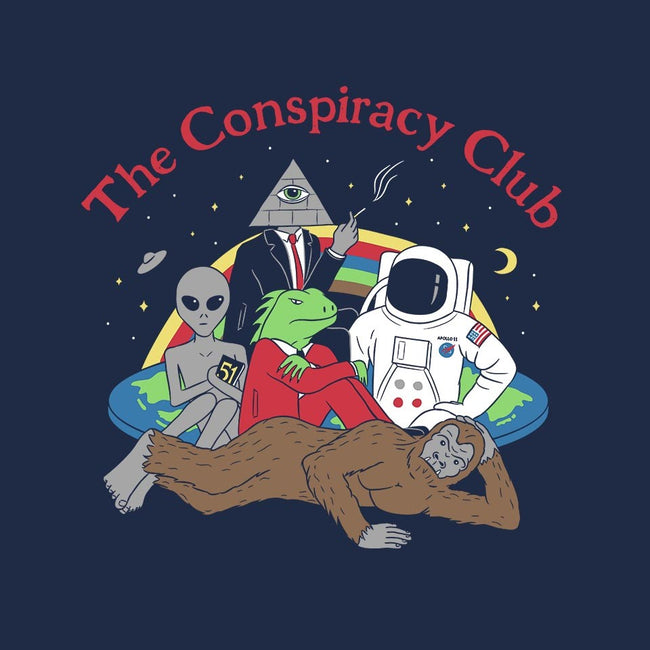 The Conspiracy Club-mens basic tee-Gamma-Ray
