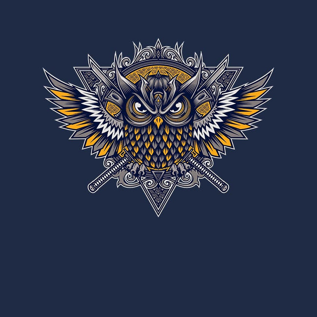 Owl Samurai-womens fitted tee-StudioM6