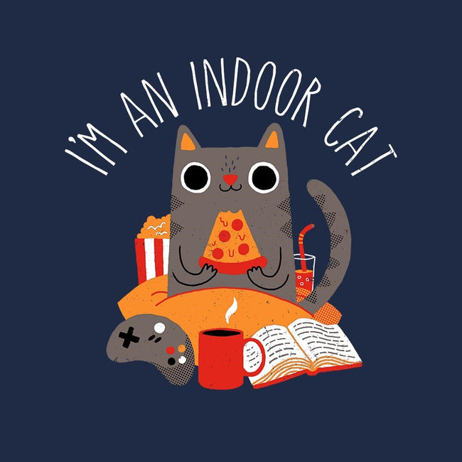 Indoor Cat-mens basic tee-DinomIke