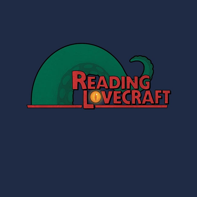 Reading Lovecraft-womens basic tee-queenmob