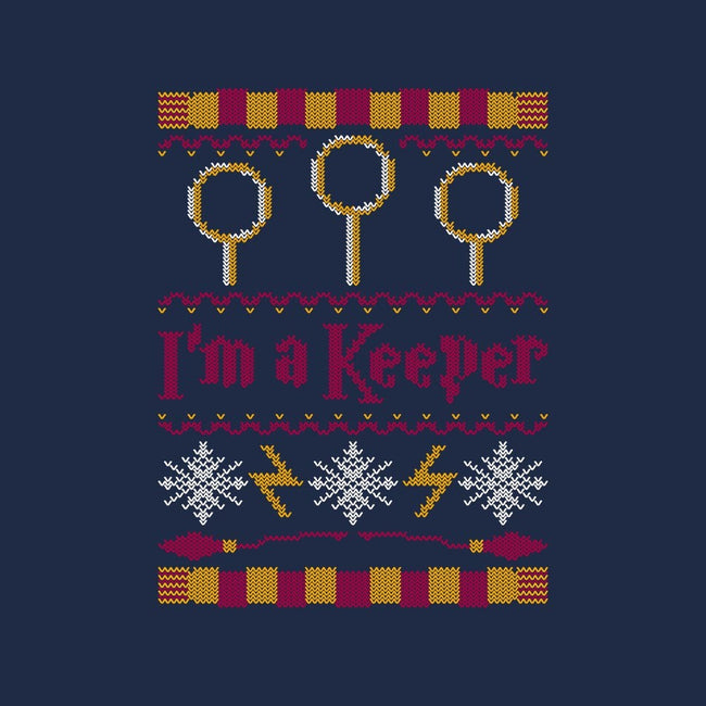I'm A Keeper-unisex zip-up sweatshirt-Mandrie