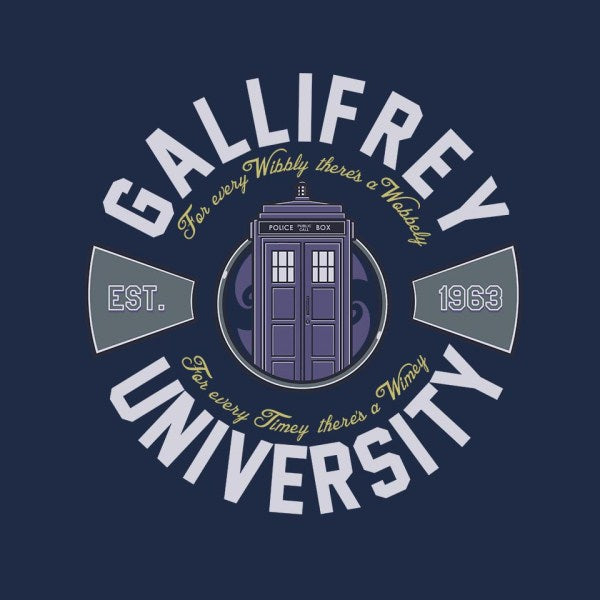 Gallifrey University-unisex crew neck sweatshirt-Arinesart