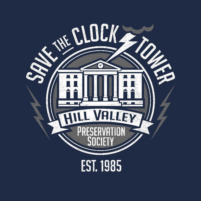 Hill Valley Preservation Society-mens basic tee-DeepFriedArt