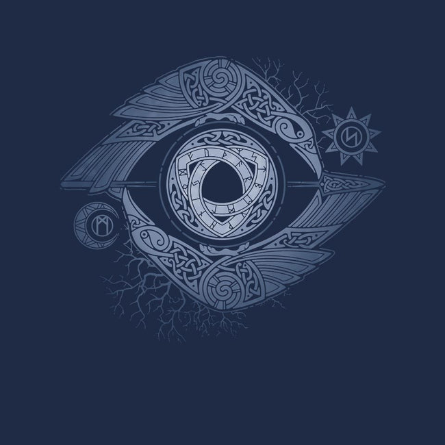 ODIN'S EYE-mens basic tee-RAIDHO