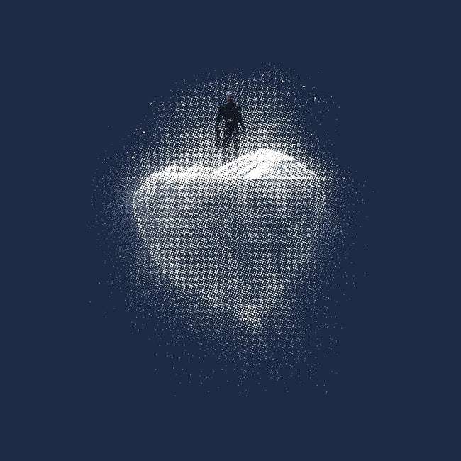 Heart Of Ice-mens premium tee-markomanev