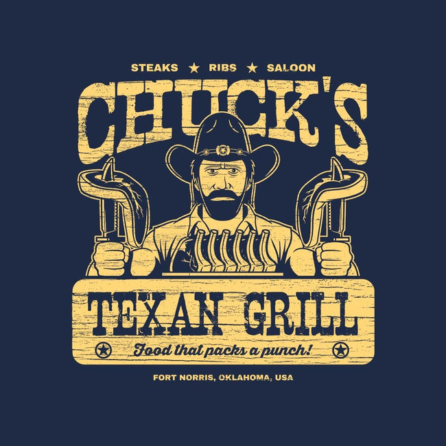 Chuck's Texan Grill-mens basic tee-stationjack