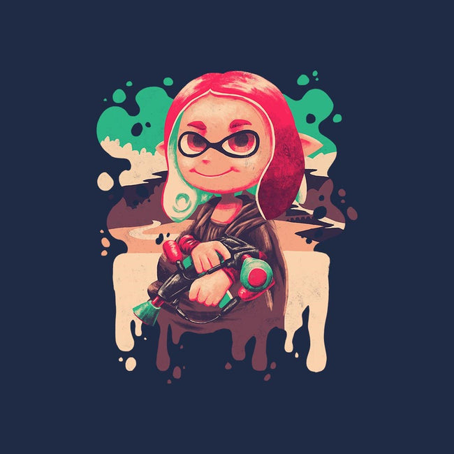 Inkling Lisa-unisex zip-up sweatshirt-Geekydog
