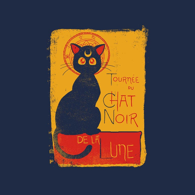 Chat Noir de la Lune-womens basic tee-diha