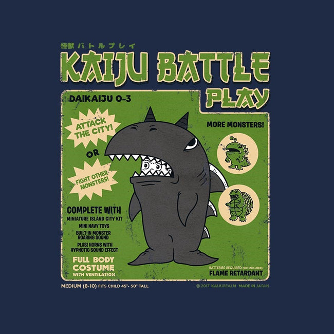 Kaiju Battle Player 3-mens basic tee-pigboom