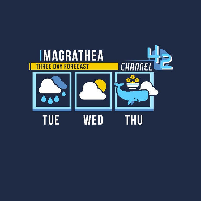 Magrathea Forecast-mens basic tee-chocopants