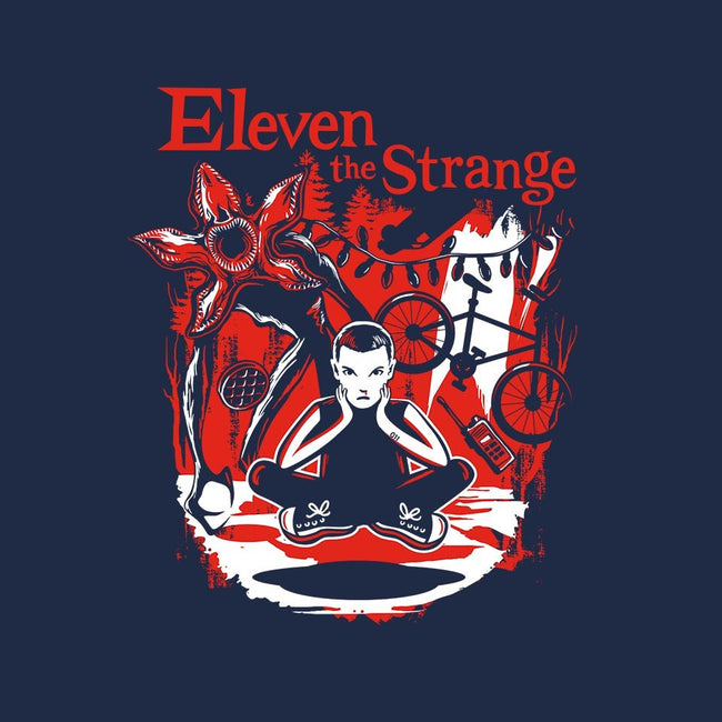 Eleven The Strange-unisex zip-up sweatshirt-DeepFriedArt
