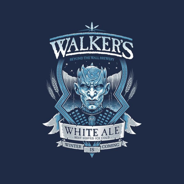 Walker's White Ale-mens basic tee-Nemons