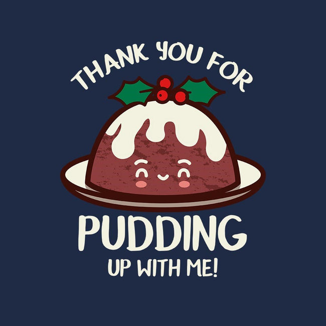 Pudding Up With Me-womens fitted tee-Beware_1984