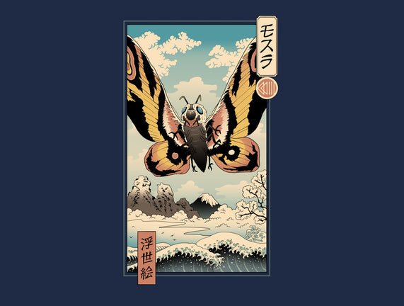 Ancient Moth Ukiyo-E