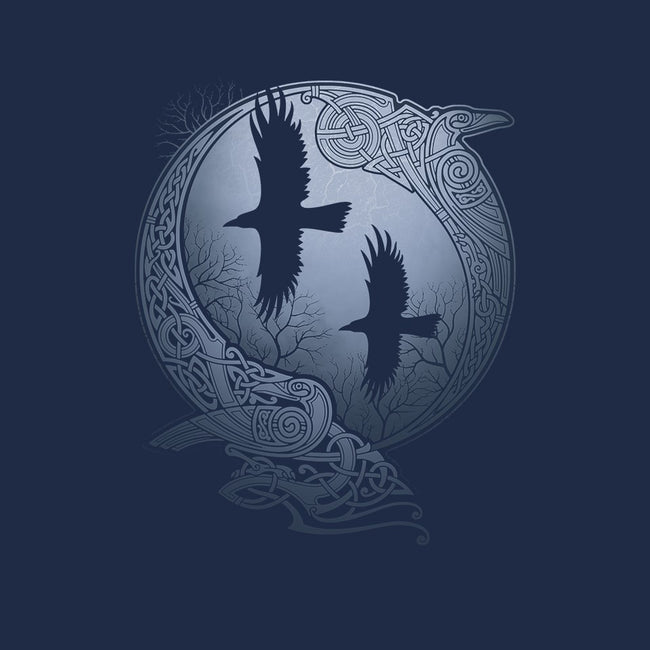 Odin's Ravens-womens fitted tee-RAIDHO