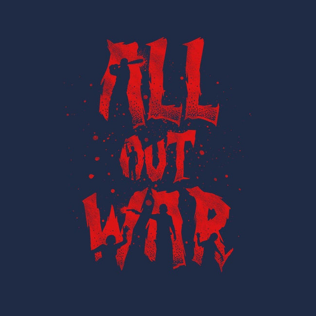 All Out War-womens fitted tee-Beware_1984