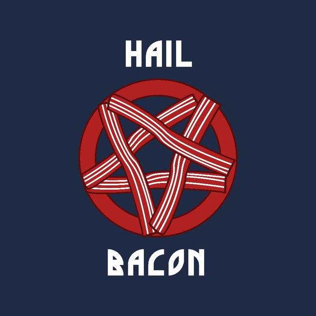 Hail Bacon-mens basic tee-dumbshirts