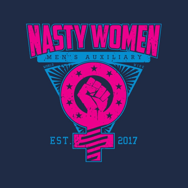 Nasty Women Auxiliary-womens fitted tee-SXStudios