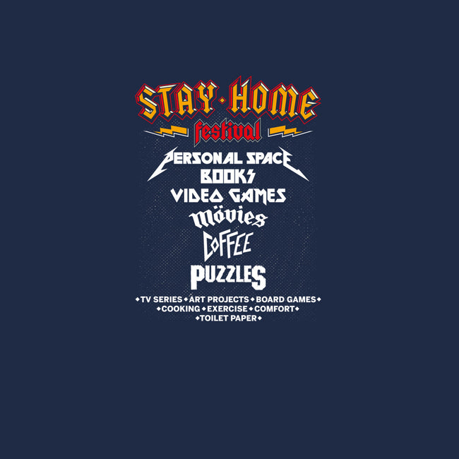 Stay Home Festival-mens basic tee-mekazoo