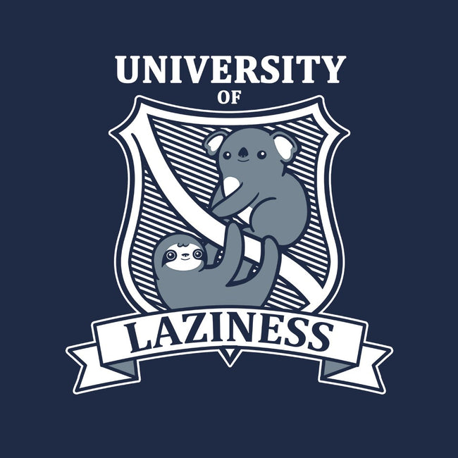 University of Laziness-womens fitted tee-NemiMakeit