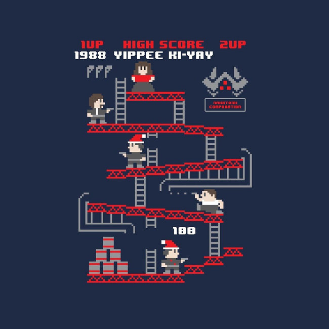 Yippee Ki-Yay The Arcade Game-youth basic tee-jrberger