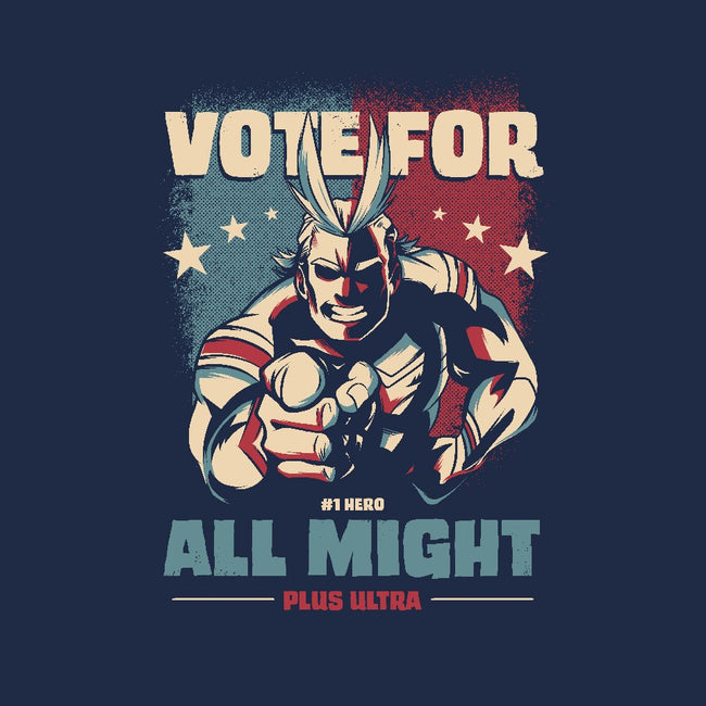 Vote for Plus Ultra!-mens basic tee-nerduniverse