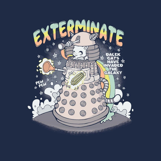 Dalek Cat-womens basic tee-xMorfina