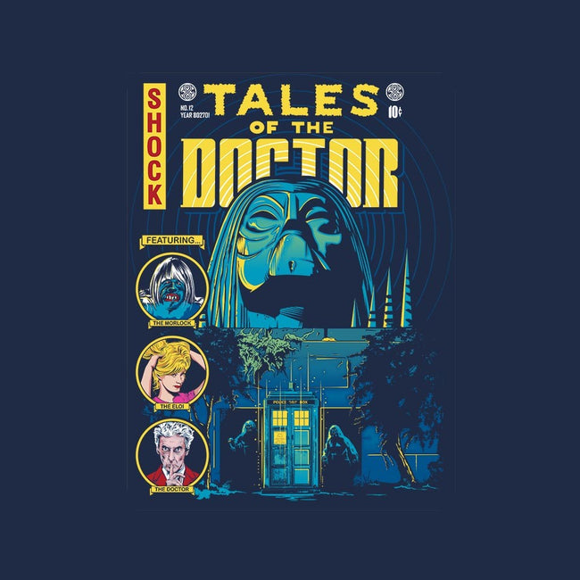 TALES OF THE DOCTOR-mens basic tee-CappO
