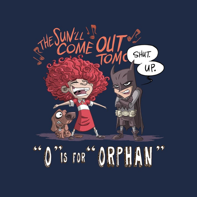 O is for Orphan-unisex basic tank-otisframpton