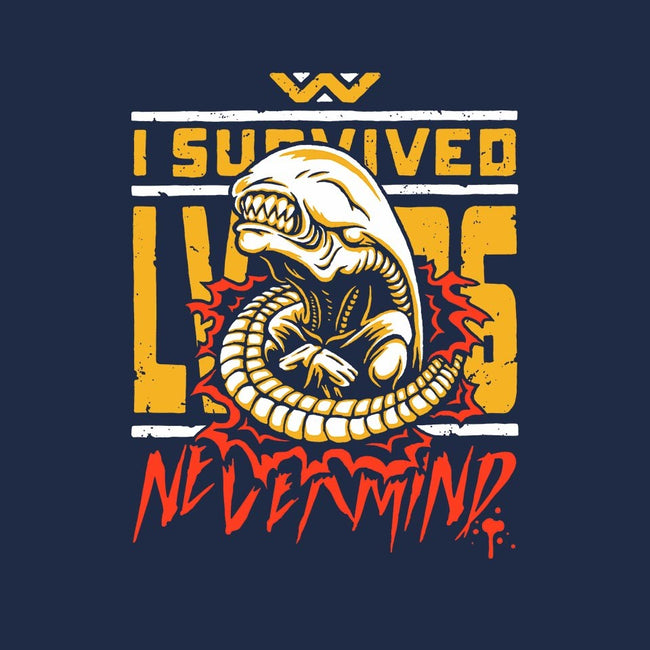 I Survived LV-426-womens fitted tee-BWdesigns