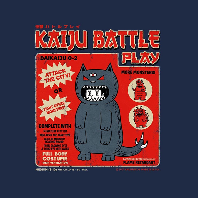 Kaiju Battle Player 2-mens basic tee-pigboom